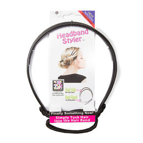 Black Headband Styler,