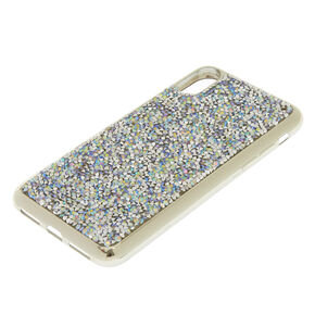 Iridescent Crushed Stone Phone Case,