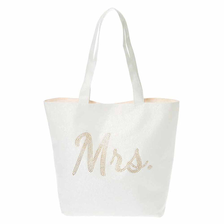 Mrs. Canvas Tote Bag,