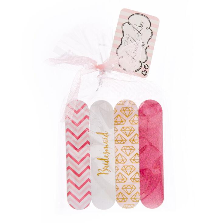 Bridesmaid Nail File Gift Set,