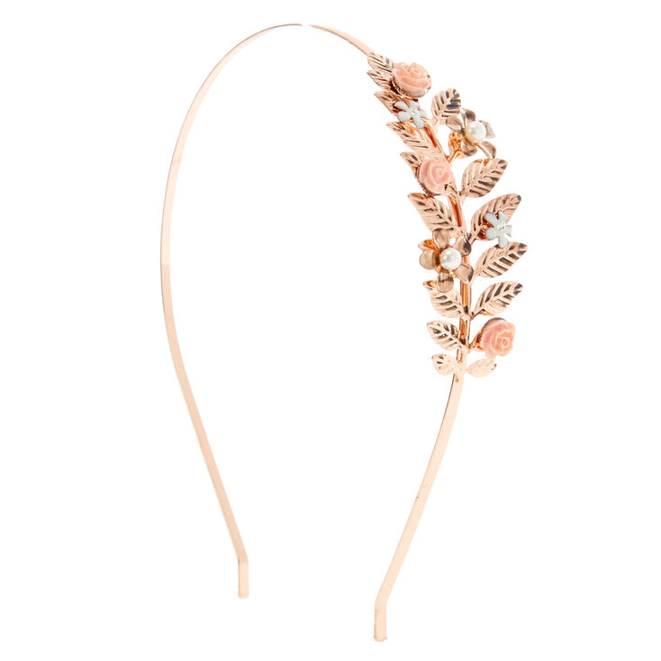 Rose Leaf Headband,
