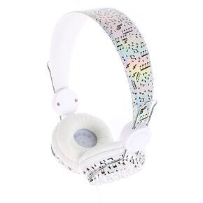 Holographic Music Note Headphones,