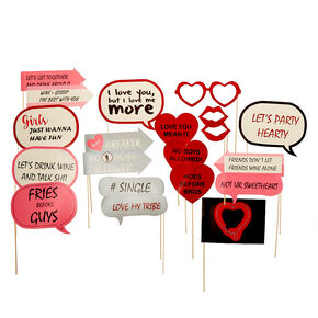 No Boys Valentine's Day Selfie Kit,