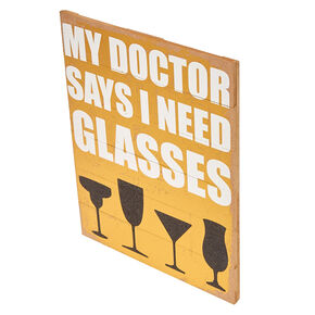 Drinking Glasses Wall Art,