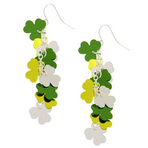 St. Patrick's Day Shamrock Drop Earrings,