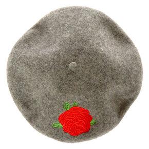 Red Rose Wood Beret,