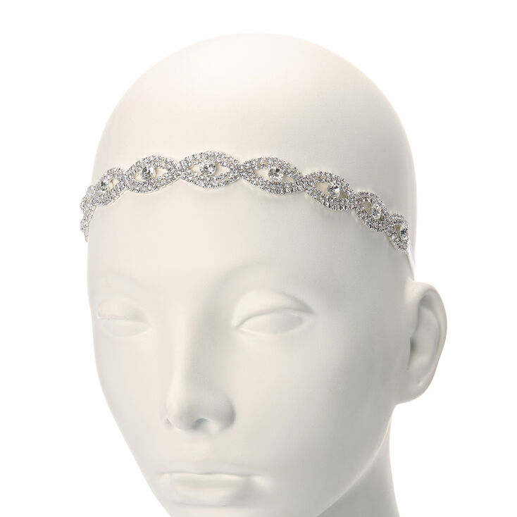 Crystal Twisted Headwrap,