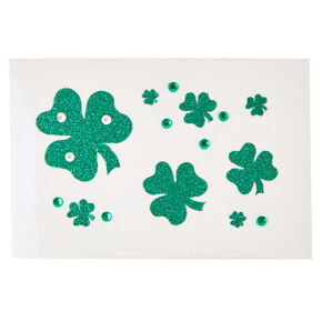St. Patrick's Day Self-Stick Shamrock Tattoos,
