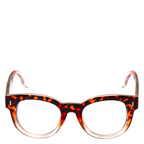 Retro Thick Tortoise Shell Glasses,