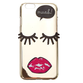 Muah! Mirrored Phone Case,
