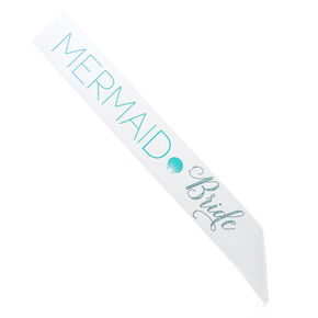 Mermaid Bride Sash,