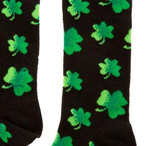 St. Patrick's Day Shamrock Crew Socks,
