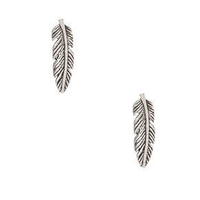 925 Sterling Silver Windy Leaf Earrings,