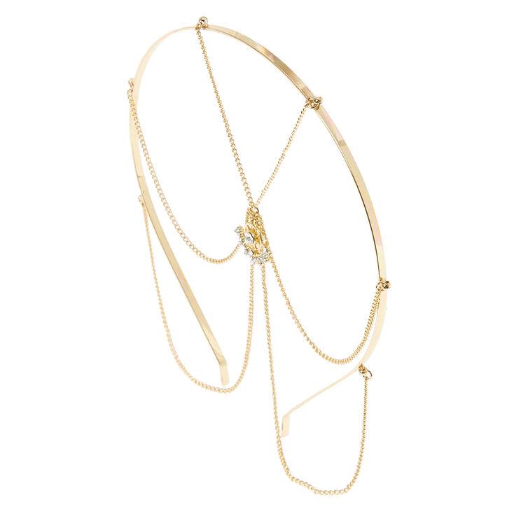 Pretty Gold Head Chain,