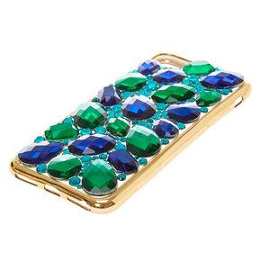 Sapphire + Emerald Stone Phone Case,