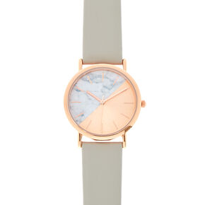 Rose Gold And Marble Watch,