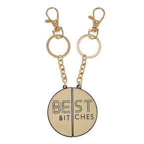 Best Bitches Keychain Set,