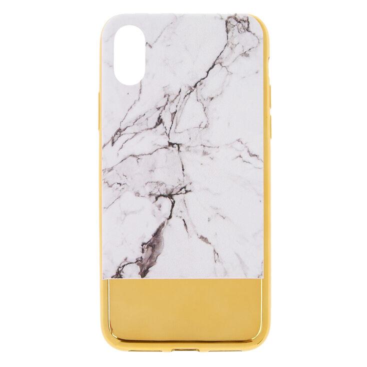 Metallic Gold Bar Marble Phone Case,