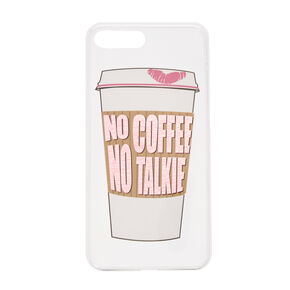No Coffee No Talkie Phone Case,