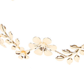 Gold Flower Crown,