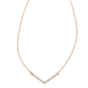 Rose Gold Diamond Angle Sunglasses Chain,