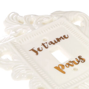 Ceramic Paris Light Switch,