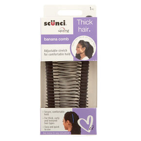 Thick Black Hair Banana Comb,