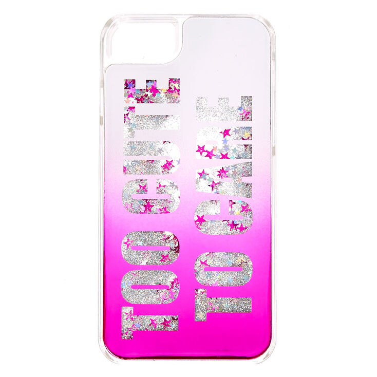 Too Cute To Care Phone Case,