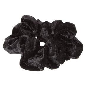 Black Velvet Hair Scrunchie,