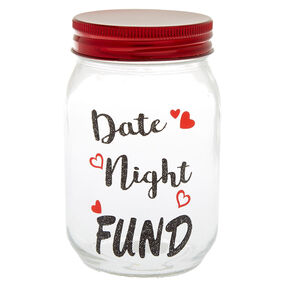 Date Night Fund Mason Jar,