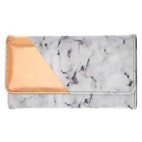 Marble Print Phone Wallet,