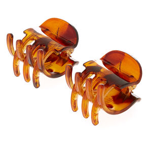 No Slip Grip Tortoise Shell Hair Claws,