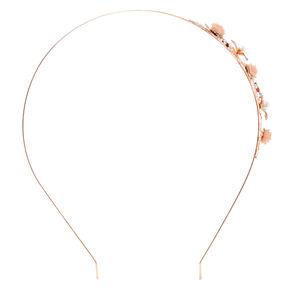 Rose Leaf Headband,