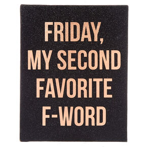 Favorite F-Word Wall Art,
