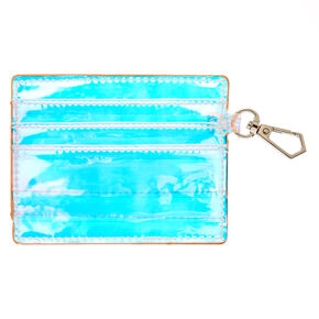 Holographic Clear ID Holder,