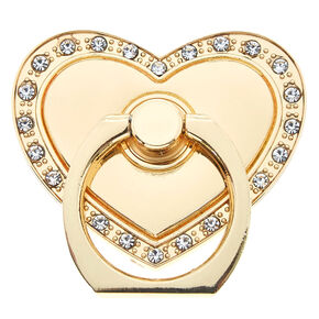 Gold Heart Ring Stand,