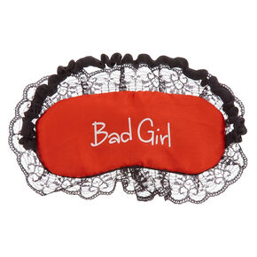 Reversible Good + Bad Sleeping Mask,