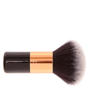 Black & Rose Gold Dual-End Short Kabuki Makeup Brush,
