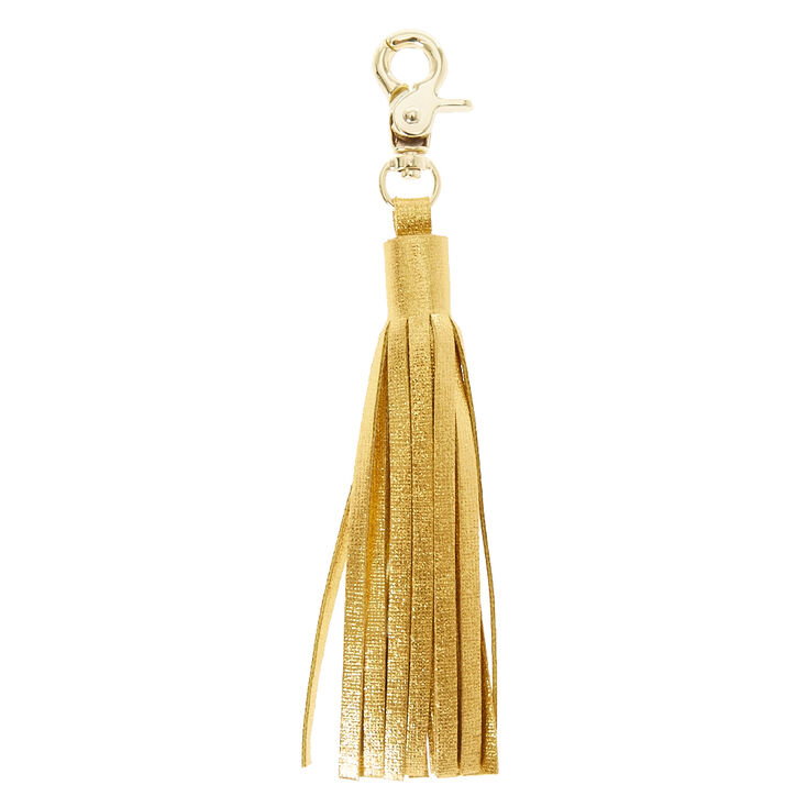 Gold Tassel Charging Cable,