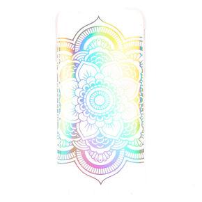 Holographic Mandala Phone Case,
