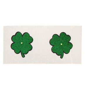 St. Patrick's Day Shamrock Glitter Pasties,