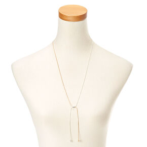 Gold and Silver-Toned Necklace,