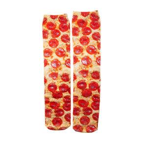 Living Royal Pepperoni Pizza Knee High Socks,