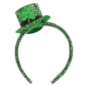 St. Patrick's Day Glitter Mini Hat Headband,