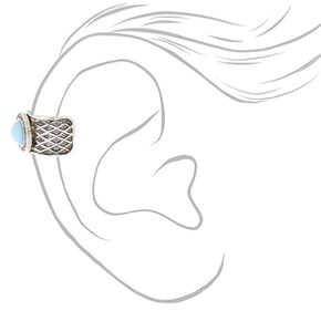 Gold and Silver-tone Tribal Ear Cuffs,