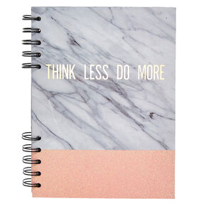Faux Marble Notebook,