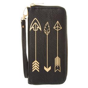 Gold Arrow Wristlet,