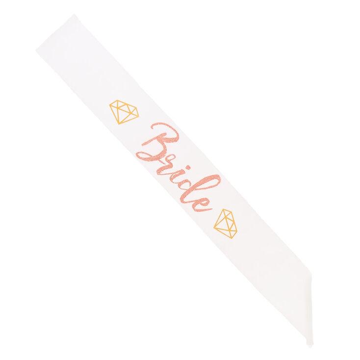 Bride Diamond Sash,