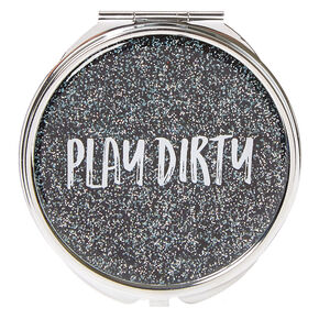 Play Dirty Glitter Compact Mirror,