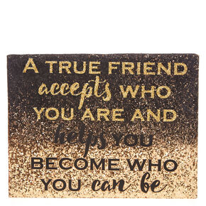 True Friend Wall Art,